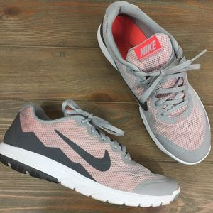 Nike Flex Experience RN4 Coral & Gray Women's Sz10